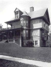 A. J. Seligman House, Helena, Montana, ca. 1900, Tim Coulter and Samantha Sanchez Collection