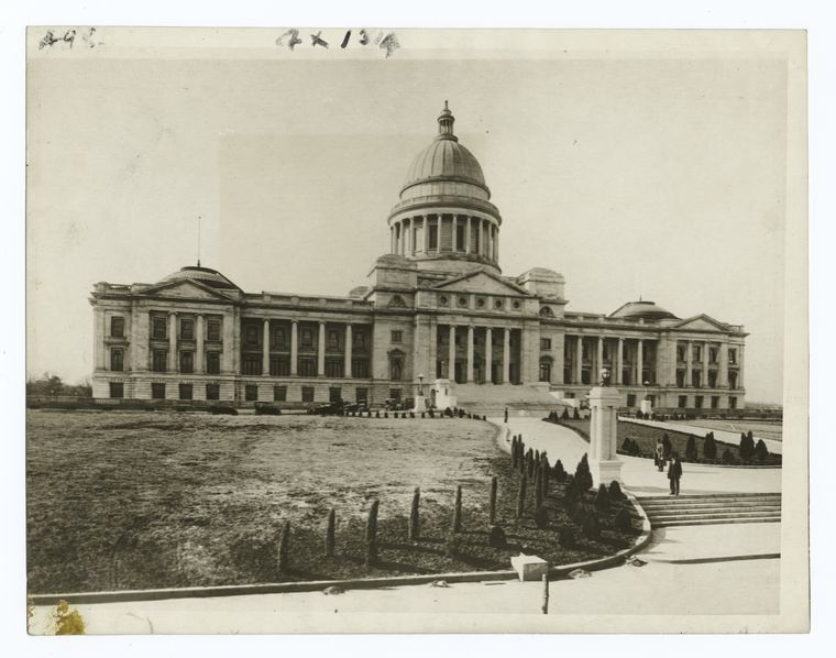 Arkansas State Capitol, Historic image of capitol
