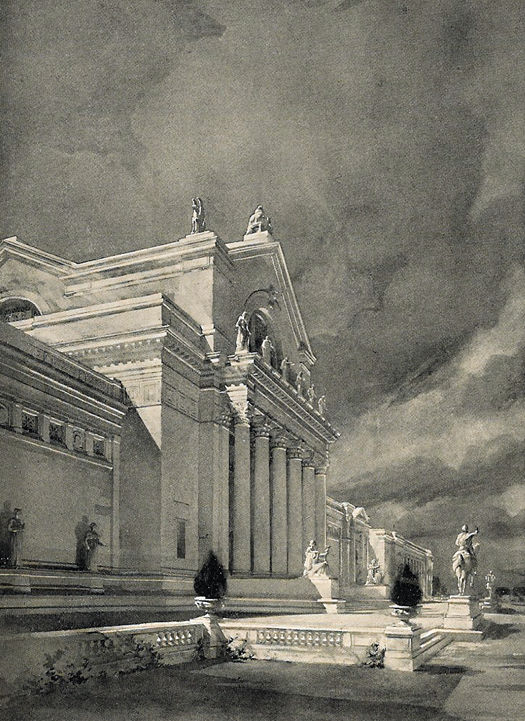 Palace of Fine Arts (St. Louis Art Museum), Palace of Fine Arts rendering