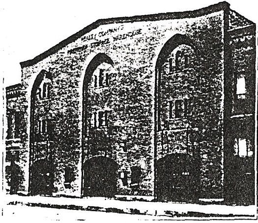 Realty Company Warehouse, Image from Advertisement, 1901