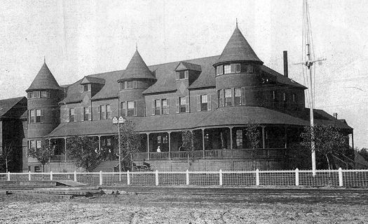 Northern Pacific Railroad Hospital - Brainerd, Northern Pacific Railroad Hospital, Brainerd, MN, ca. 1895