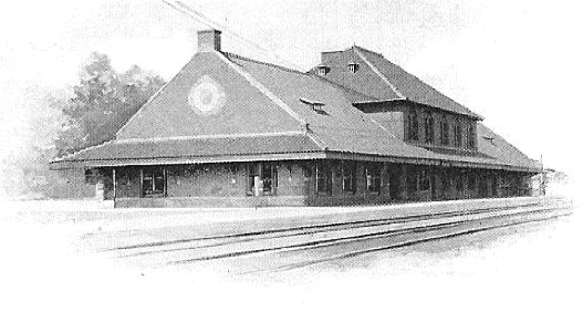 Northern Pacific Railroad Depot - Fargo, Exterior view