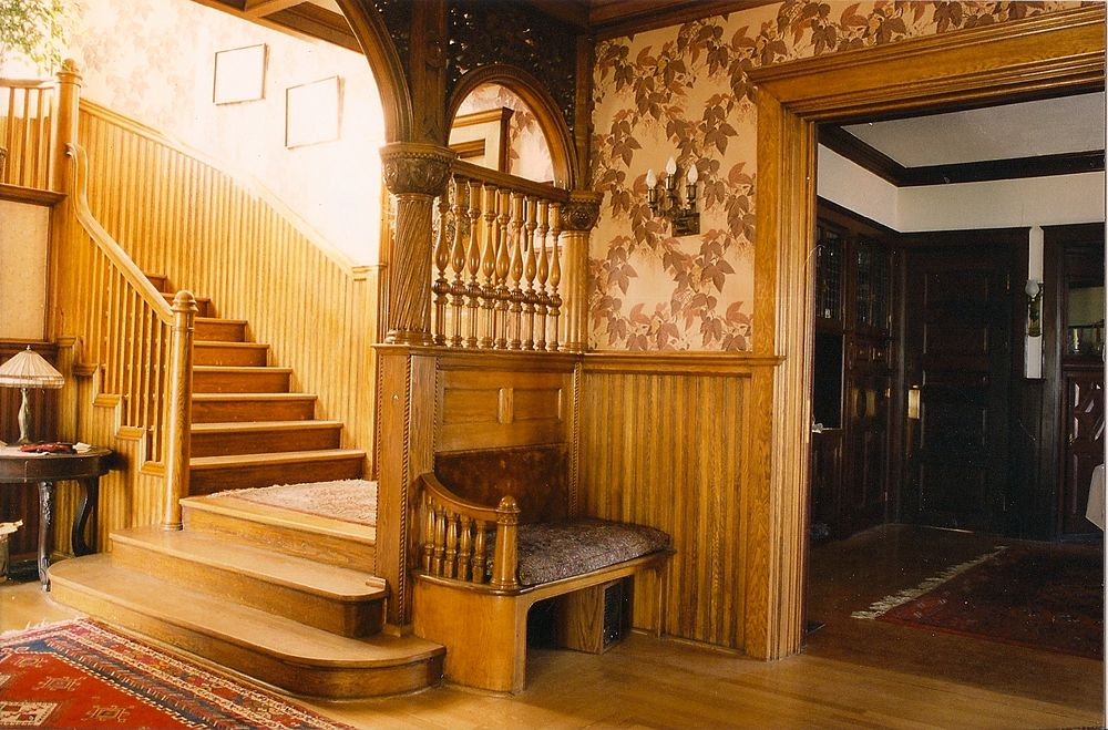 A.J. Seligman Residence, Main stair