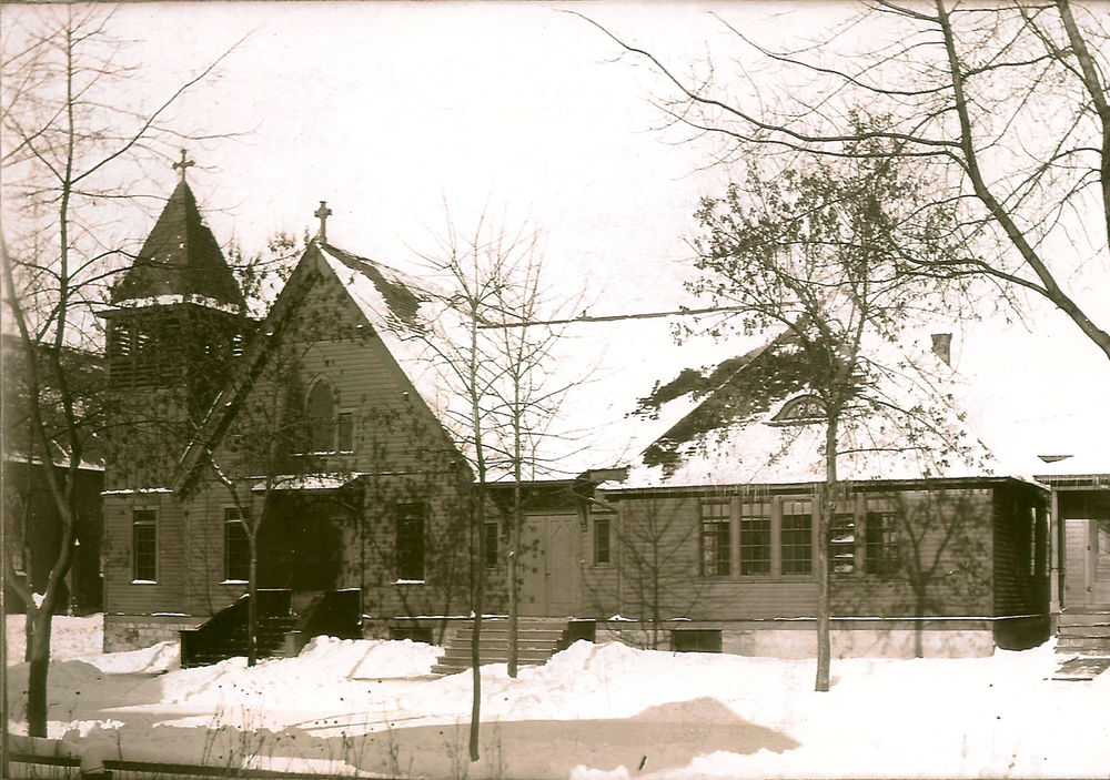 St. Paul's Episcopal Church of Virginia MN, Photograph from 1908