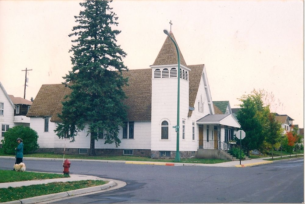 St. Paul's Episcopal Church of Virginia MN, Exterior view