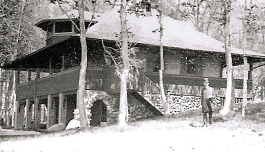 C.P. Noyes Summer Cottage, Image from the Library of Congress